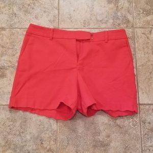 Anne Klein Great Condition Red Short Shorts